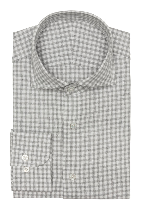 Grey Flannel Check Shirt
