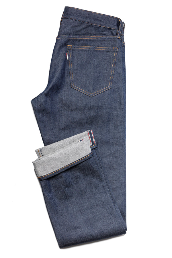 Red Cast Selvedge Stretch Denim Jeans