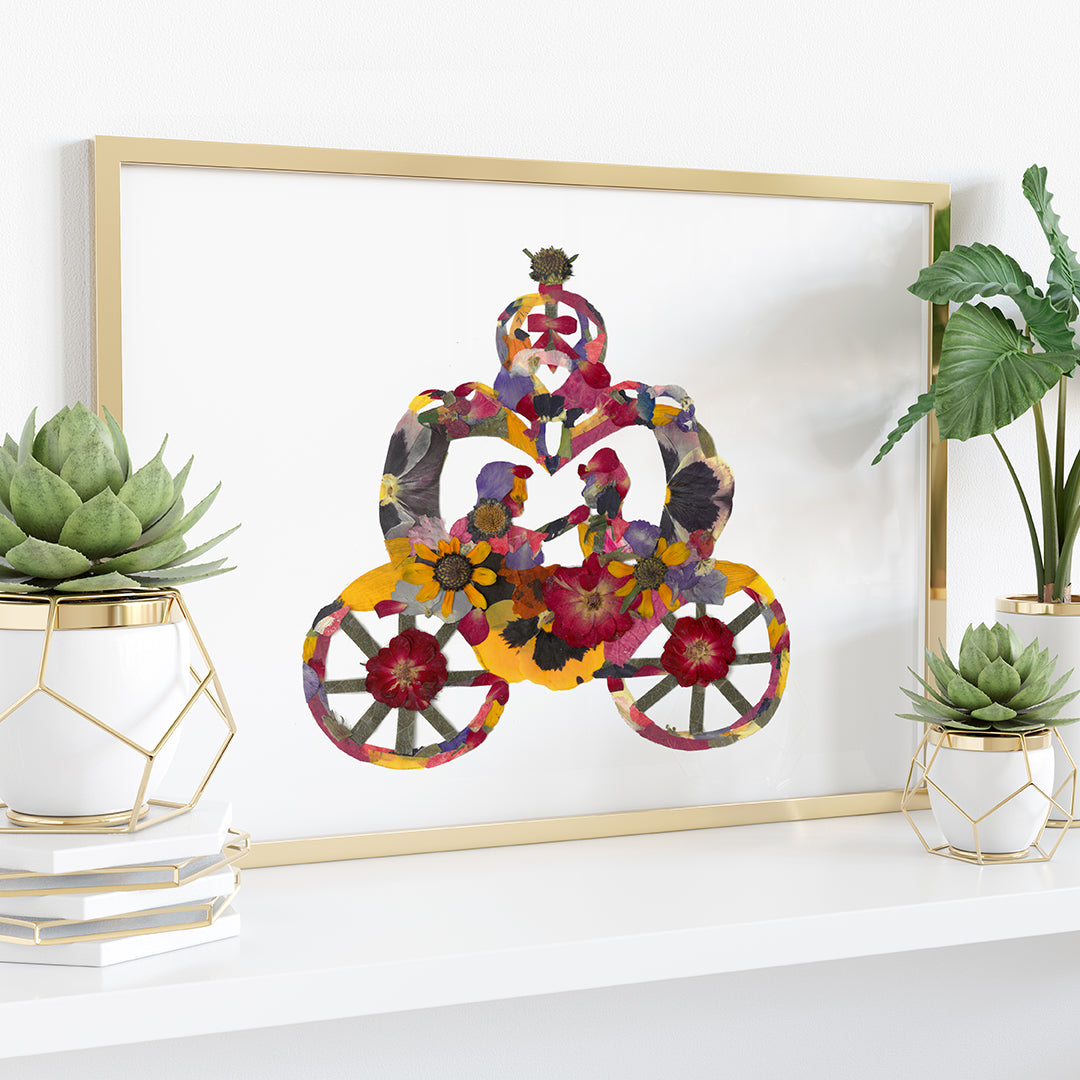Cinderella Carriage Print