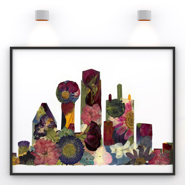Dallas Skyline Print