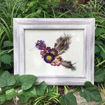 Purple Hummingbird Print