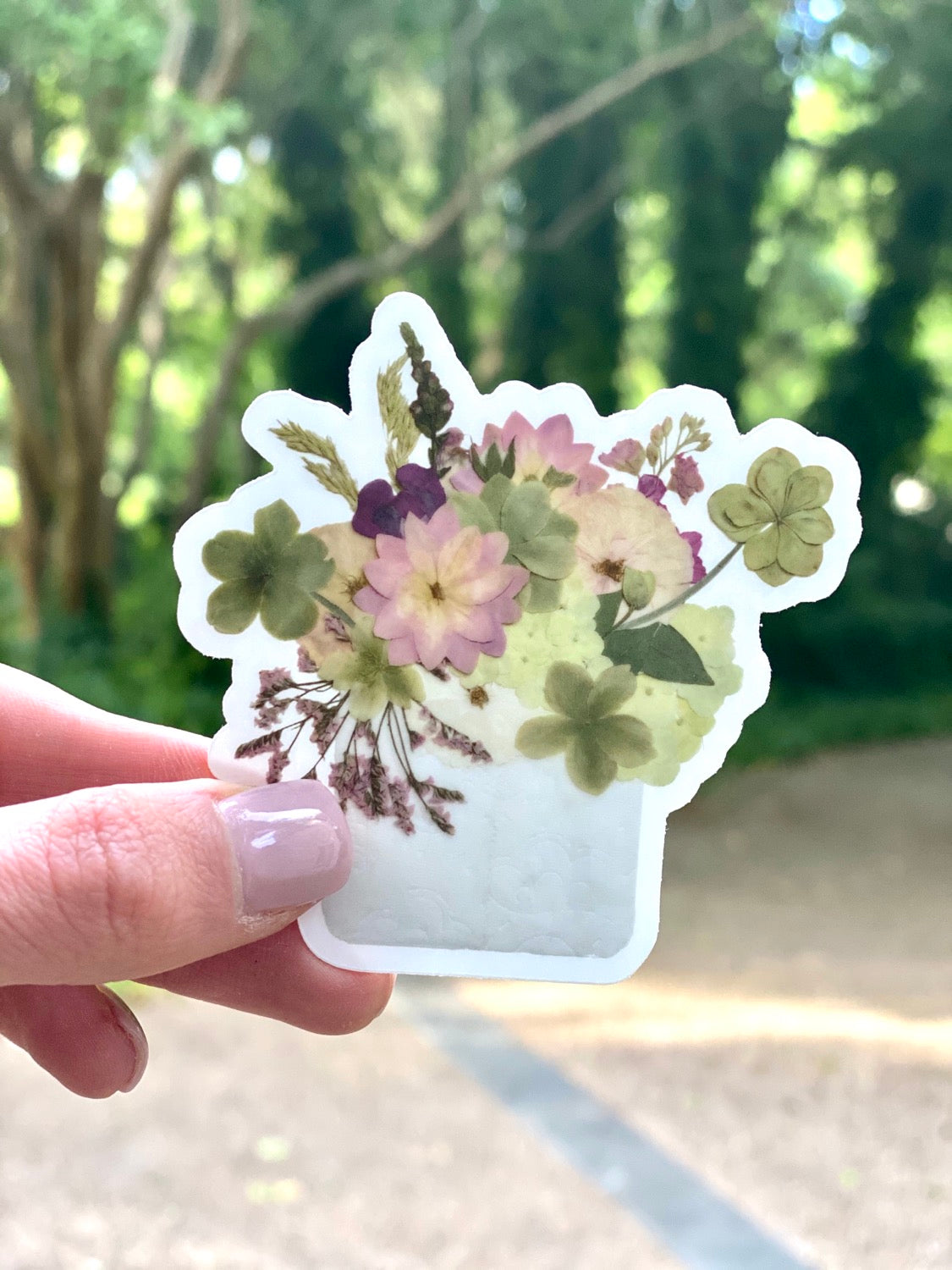 TP Keep Blooming Sticker