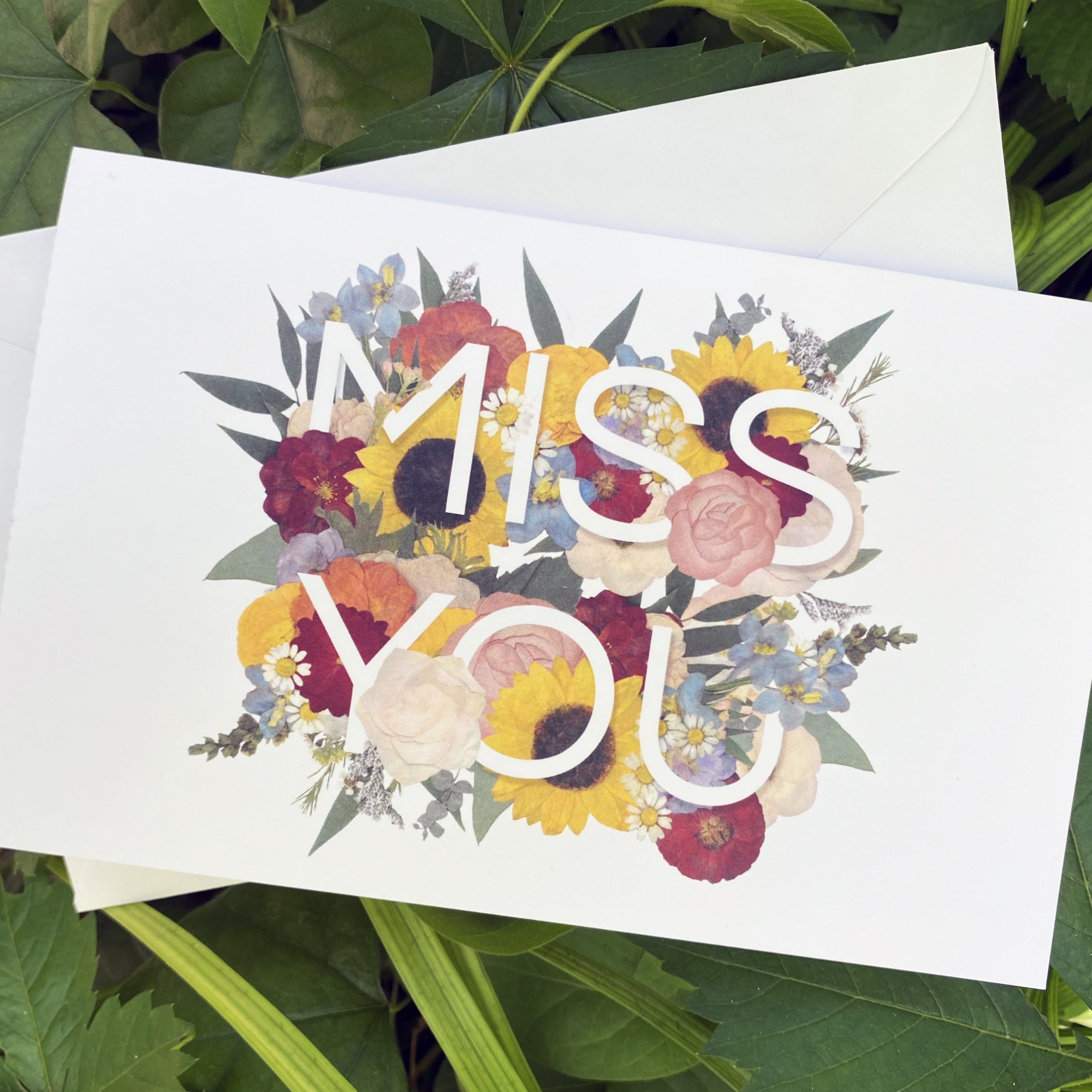 Miss You Greeting Card Set
