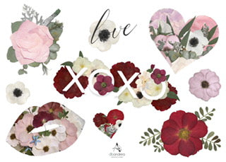 XOXO, Love Sticker Sheet