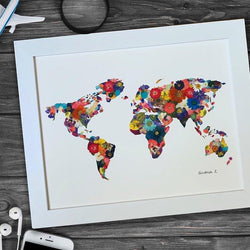 World in Color Print