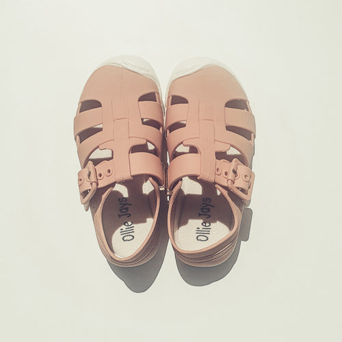Jelly Sandals - Pink - Ollie Jays