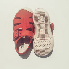 Load image into Gallery viewer, Jelly Sandals - Red - Ollie Jays