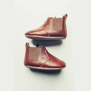 Chestnut Chelsea Boot - Soft Sole - Ollie Jays