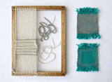 Beginner Weaving Loom Kit - Natural Finish Frame Loom