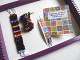 Kid's Weaving Loom Kit - Purple Loom