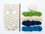 Kid's Wall Art Weaving Kit - Blue Weaving