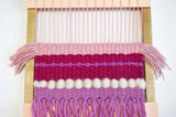 Kid's Wall Art Weaving Kit - Pink Weaving