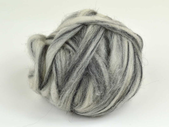 Light Gray Wool Roving