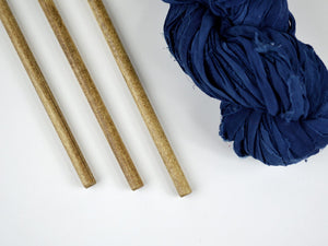 Large Wall Hanging Dowels - Oak Finish