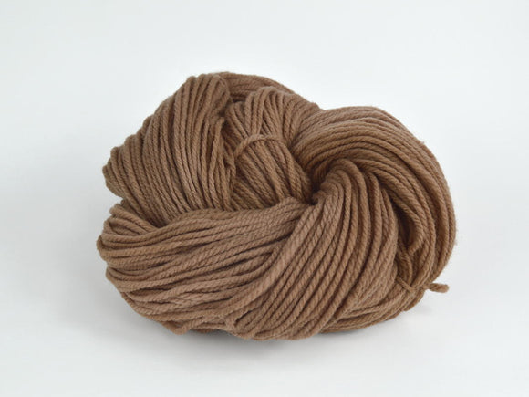 Walnut Plant Dyed Yarn Worsted