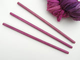 Wall Hanging Dowels - Dark Magenta Finish