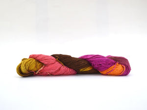 Silk Lace Weight Yarn Multi-Color
