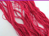 Silk Sparkle Lace Weight Yarn Red