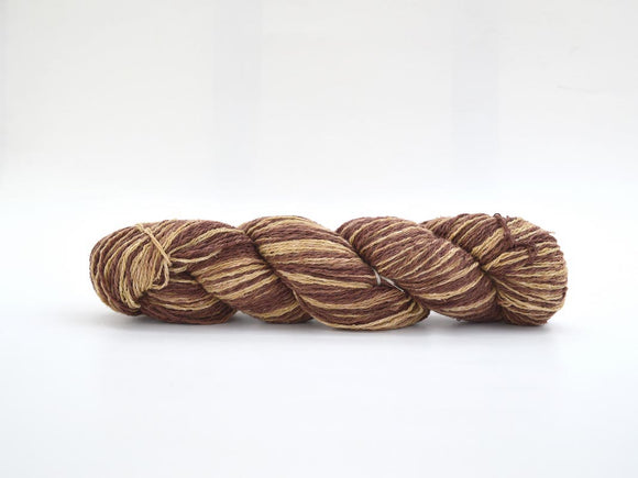 Silk Viscose Yarn Brown
