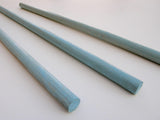 Wall Hanging Dowels - Turquoise Finish