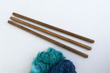 Wall Hanging Dowels - Walnut Finish