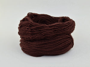 Navajo Coffee Brown Weaving Yarn