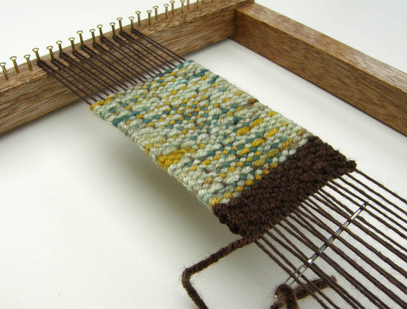 Beautifully Made Weaving Loom - Oak Finish (Loom Only)