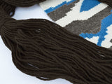 Navajo Dark Brown Weaving Yarn