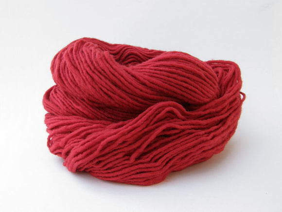 Navajo Red Weaving Yarn