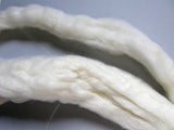 Natural White Wool Roving - 4oz