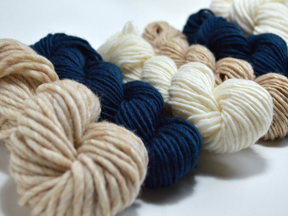 Indigo Yarn Pack