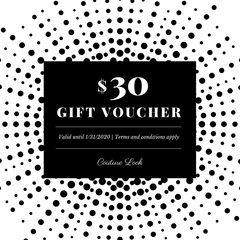 $30 Couture Look Gift Card Giveaway