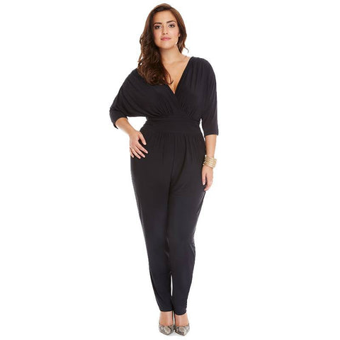 Image of Bernice Classy Vneck Rompers