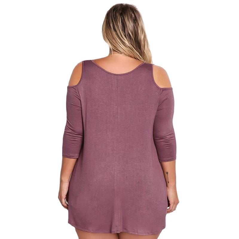 Amanda Long Sleeve Femme Plus Size Blouse - Couture Look