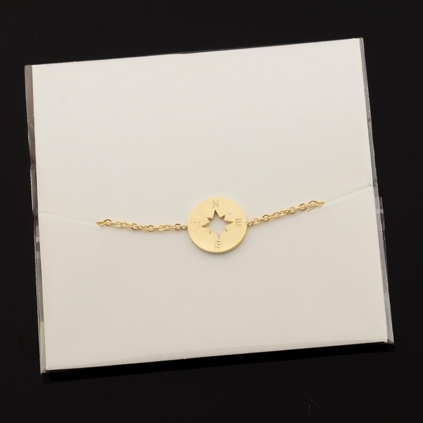 Compass Charm Bracelet - Couture Look