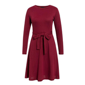 Enticing Erich Knitted Sweater Dress