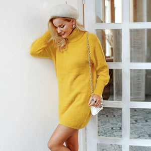 Olivia Moment Latern-Sleeved Sweater Dress