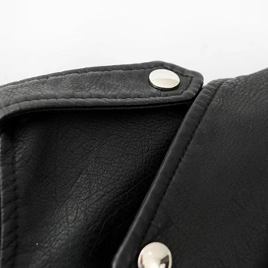Move Forward Leather Moto Jacket