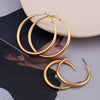 Modern Hoop Trendy Statement Earrings