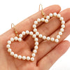 Inmost Heart Pearl Statement Earrings - Couture Look