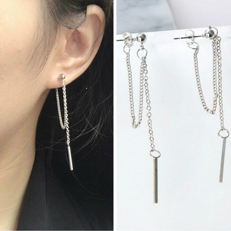 KPop Into Retro Drop Earrings - Couture Look