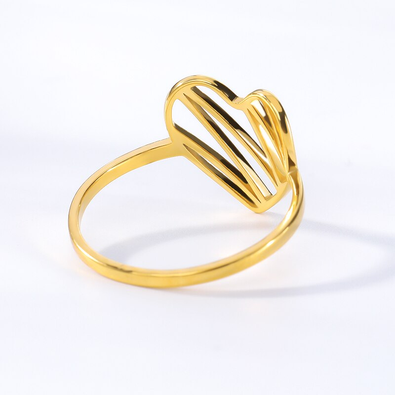 Simple Heart Ring - Couture Look