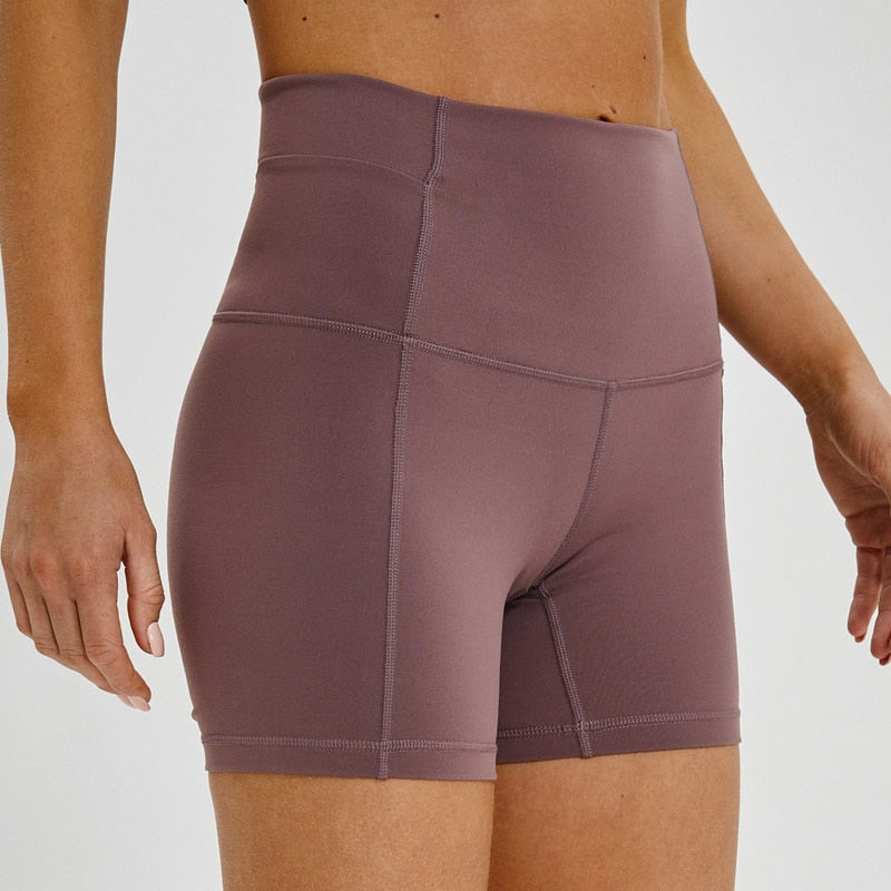 Sumbum Quick-Dry Yoga Shorts - Couture Look
