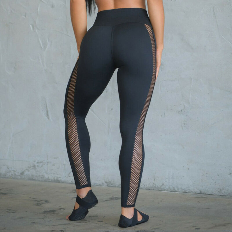 Whine Up Mesh Yoga Leggings - Couture Look