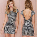 Get the Ball Rolling Bodycon Dress - Couture Look
