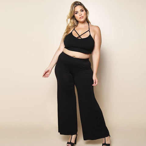 Horace High Waist Wide Leg Pants