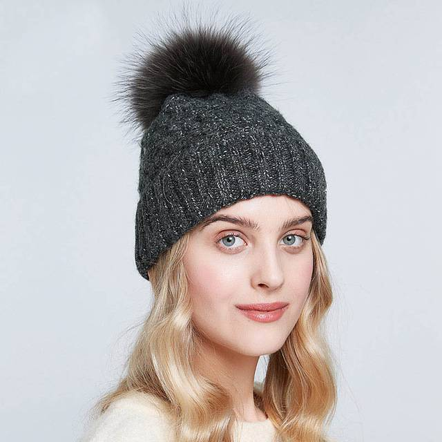Dainty Girlish Autumn Beanies Warm Hat - Couture Look