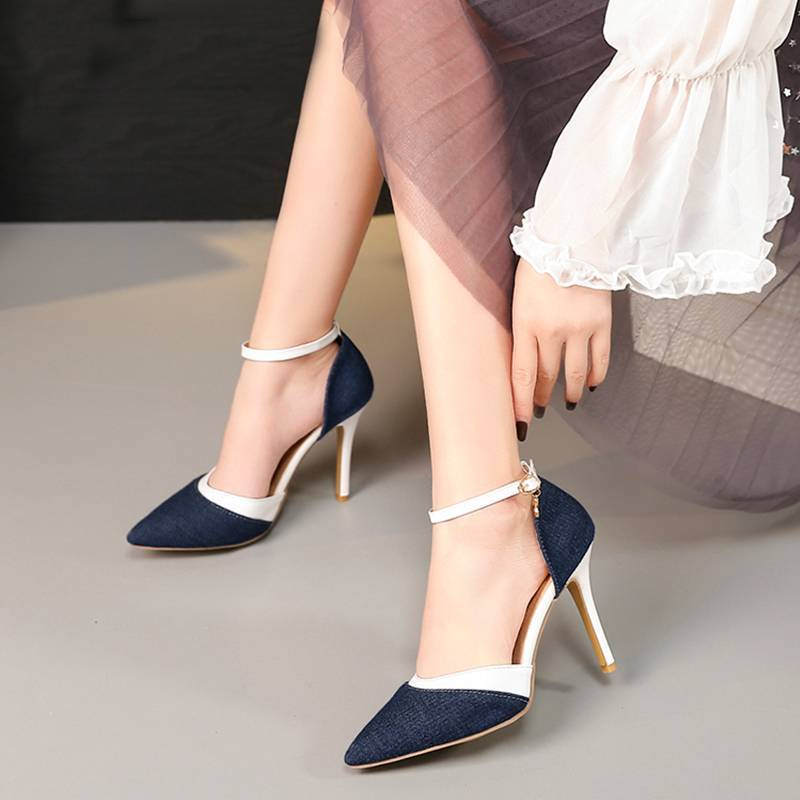 Hot Fab Fashion Party Denim Shoes - Couture Look