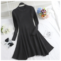 Casual Long Sleeve Sweater Dress