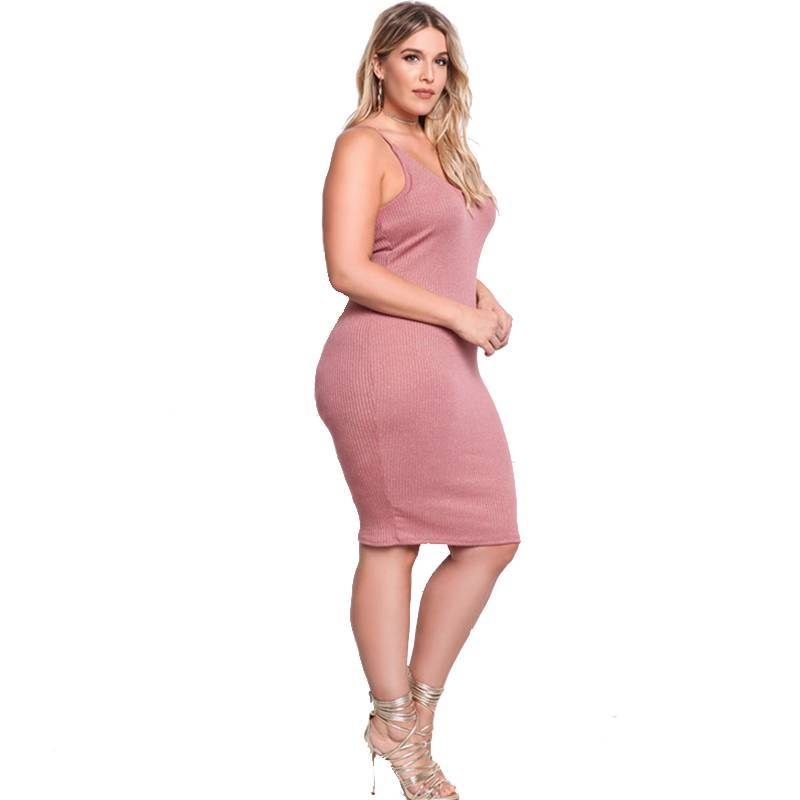 All I Want Plain Casual Plus Size Dress - Couture Look